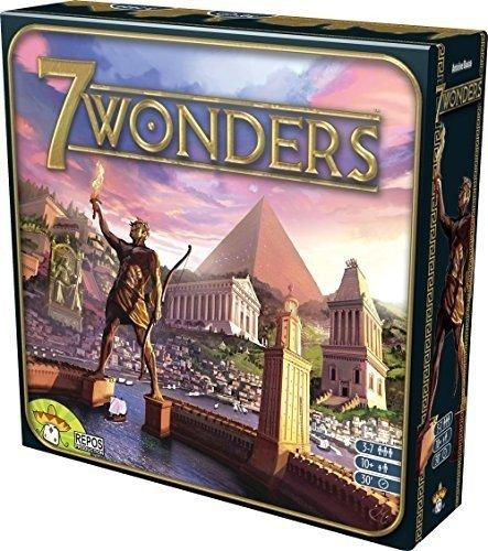 The Box art for 7 Wonders