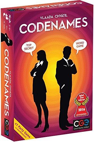 The Box art for Codenames