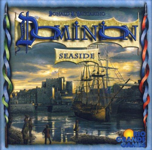 The Box art for Dominion: Seaside Expansion