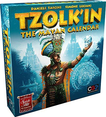 The Box art for Tzolk'in: The Mayan Calendar