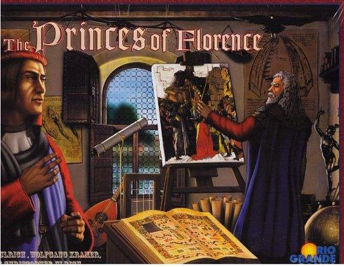 The Box art for Princes of Florence