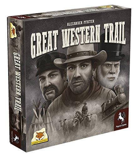 The Box art for Great Western Trail