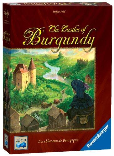 The Box art for The Castles of Burgundy