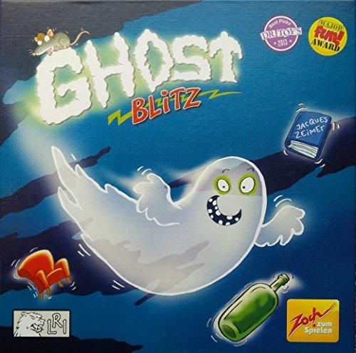The Box art for Ghost Blitz Board Game