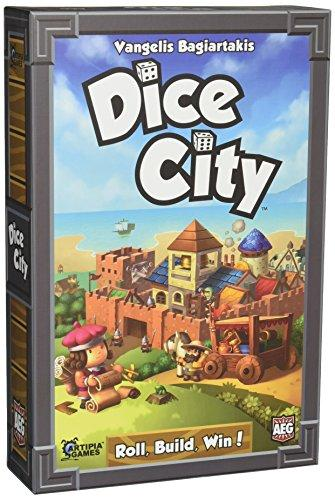 The Box art for Dice City