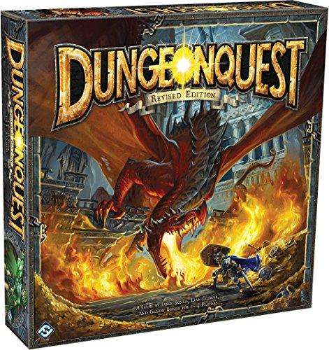 The Box art for DungeonQuest Revised Edition
