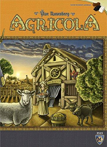 The Box art for Agricola Revised Edition