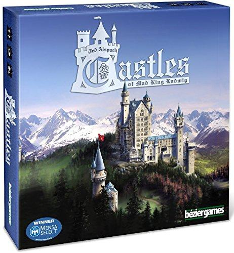 The Box art for Castles of Mad King Ludwig