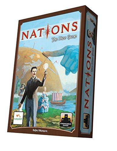A Thumbnail of the box art for Nations: The Dice Game