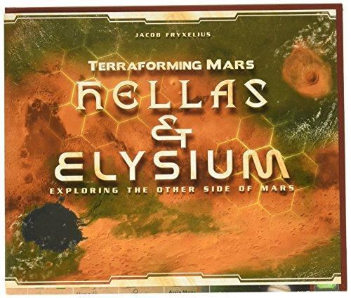 A Thumbnail of the box art for Terraforming Mars: Hellas & Elysium Expansion