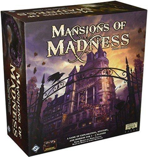 The Box art for Mansions of Madness: 2nd Edition