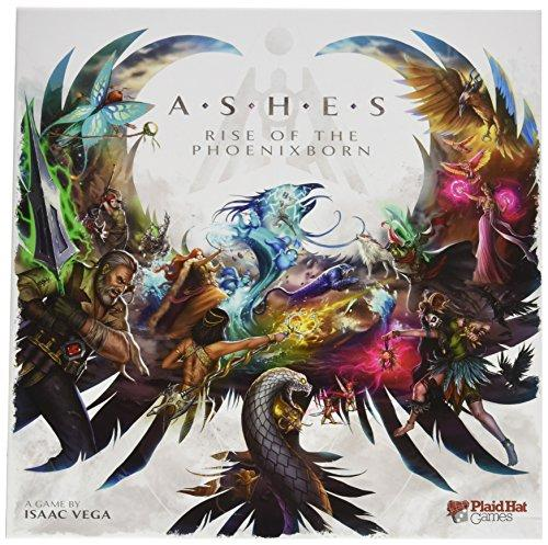 The Box art for Ashes: Rise of the Phoenixborn