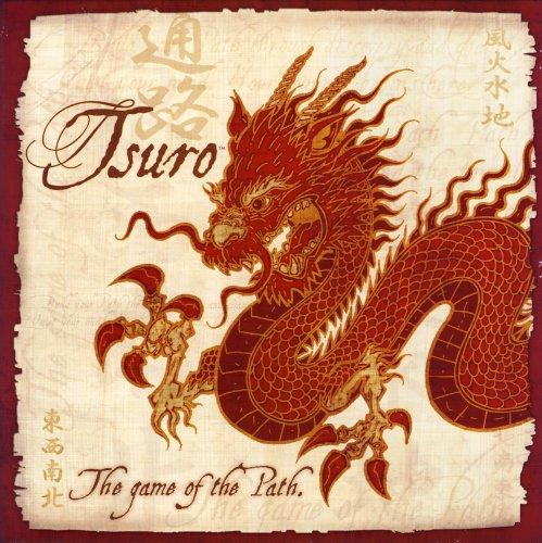 The Box art for Tsuro Board Game