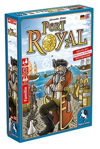 The Box art for Port Royal
