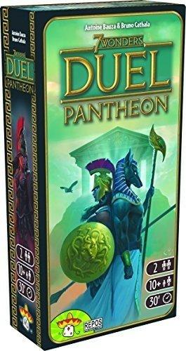 The Box art for 7 Wonders Duel: Pantheon