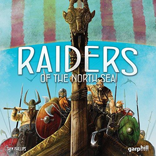 The Box art for Raiders of the North Sea