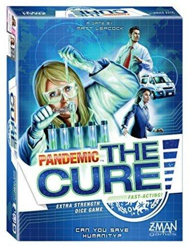 The Box art for Pandemic: The Cure
