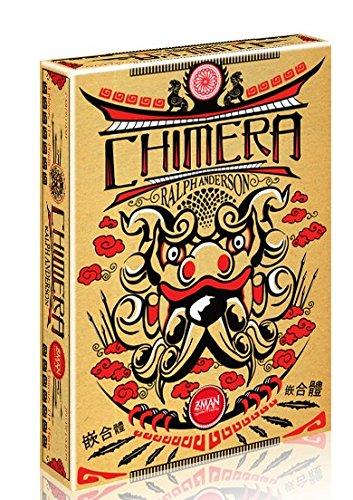 The Box art for Chimera Board Game