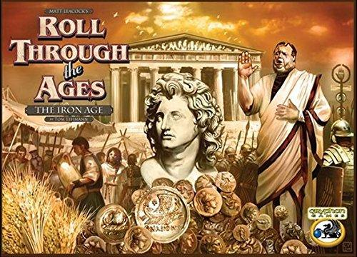 The Box art for Roll Through The Ages: The Iron Age