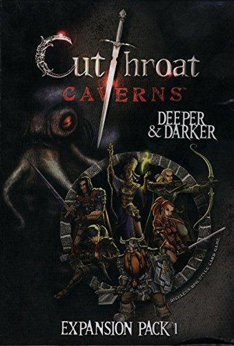 The Box art for Cutthroat Caverns Deeper And Darker Expansion 1