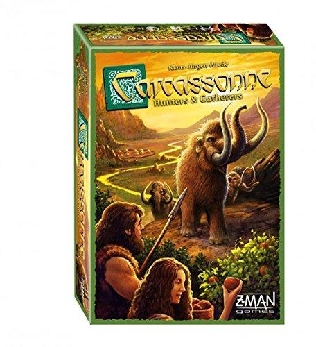 The Box art for Carcassonne Hunters and Gatherers Board Game