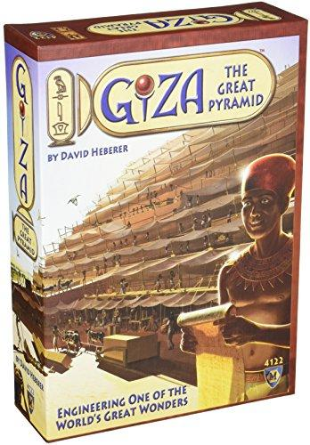 The Box art for Mayfair Games Giza: The Great Pyramid