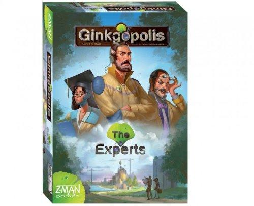 The Box art for Ginkgopolis The Experts