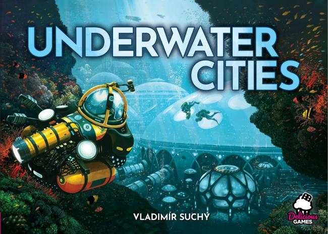The Box art for Underwater Cities