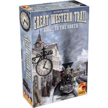 The Box art for Great Western Trail: Rails to the North
