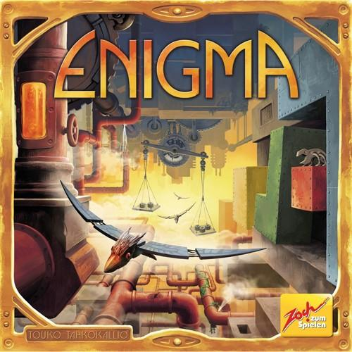 The Box art for Enigma