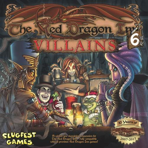 The Box art for The Red Dragon Inn 6: Villains