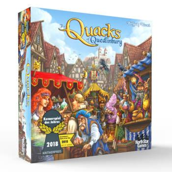 The Box art for The Quacks of Quedlinburg