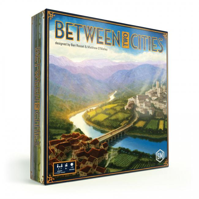 The Box art for Between Two Cities