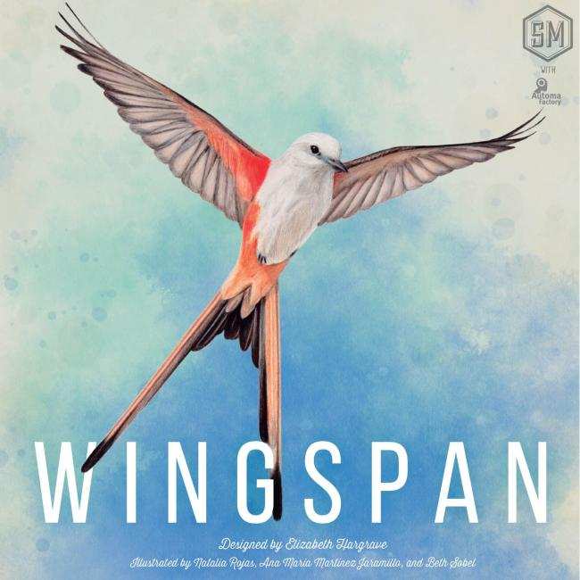 The Box art for Wingspan
