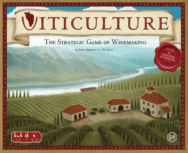The Box art for Viticulture