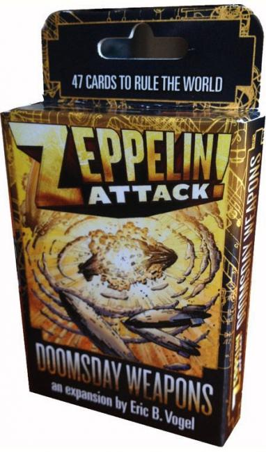 The Box art for Zeppelin Attack!: Doomsday Weapons