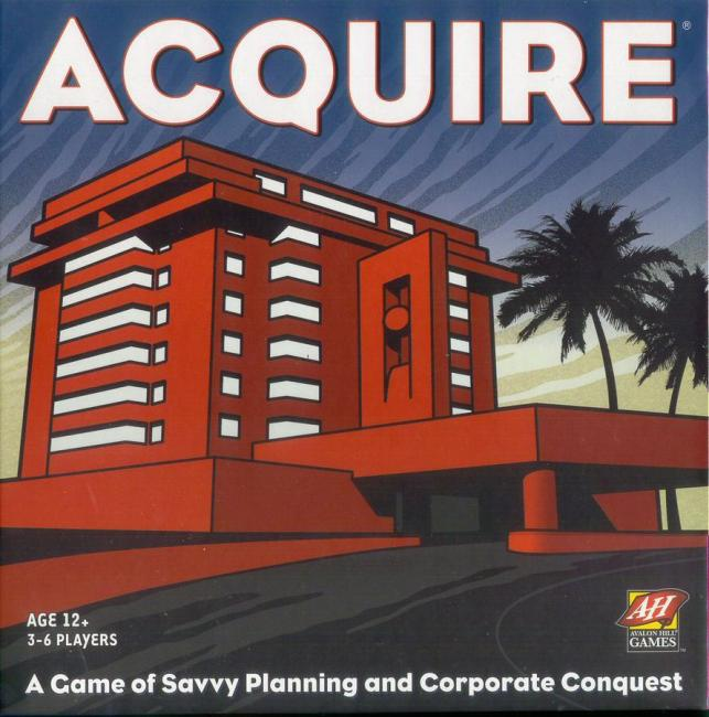 The Box art for Acquire