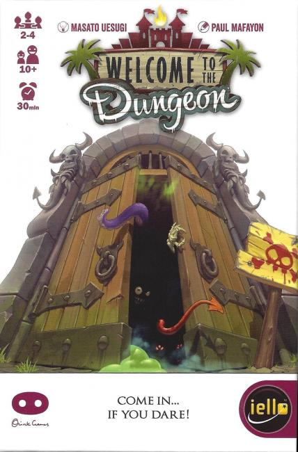 Box art for Welcome to the Dungeon