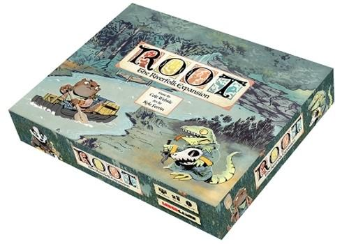 A Thumbnail of the box art for Root: The Riverfolk Expansion