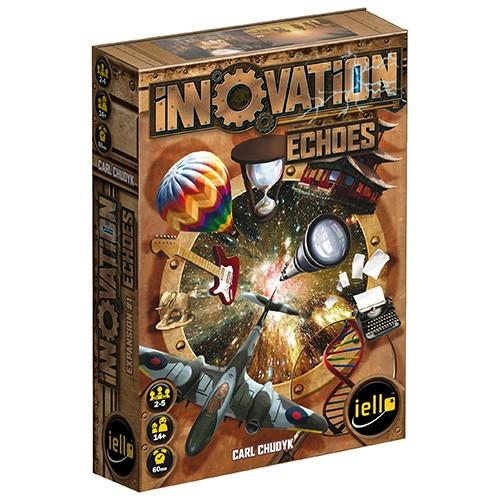 The Box art for Innovation: Echoes Expansion