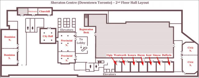 Sheraton Centre (Downtown Toronto) floor plan