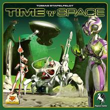 The Box art for Time 'N' Space
