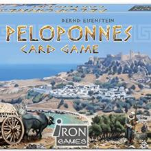 The Box art for Peloponnes Card Game