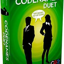 The Box art for Codenames: Duet