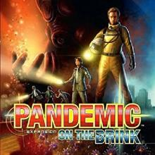 The Box art for Pandemic: On the Brink