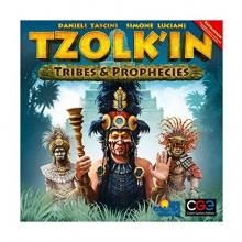 The Box art for Tzolk'in: Tribes and Prophecies