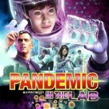 The Box art for Pandemic: In The Lab Expansion