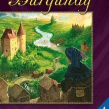 The Box art for The Castles of Burgundy: The Card Game