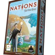 The Box art for Nations: The Dice Game