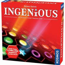 The Box art for Ingenious